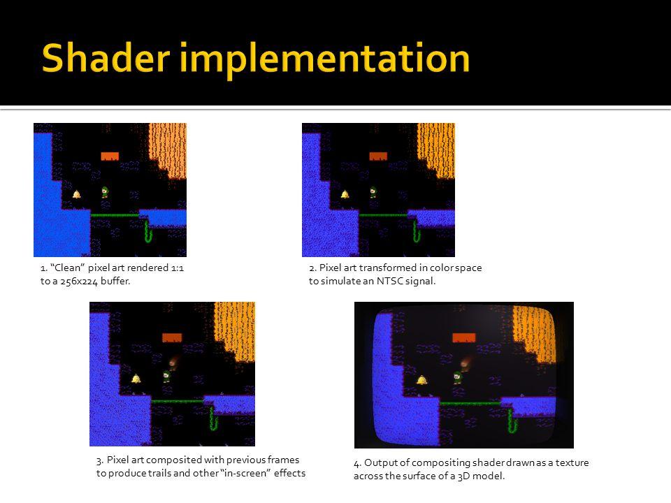 Shader implementation