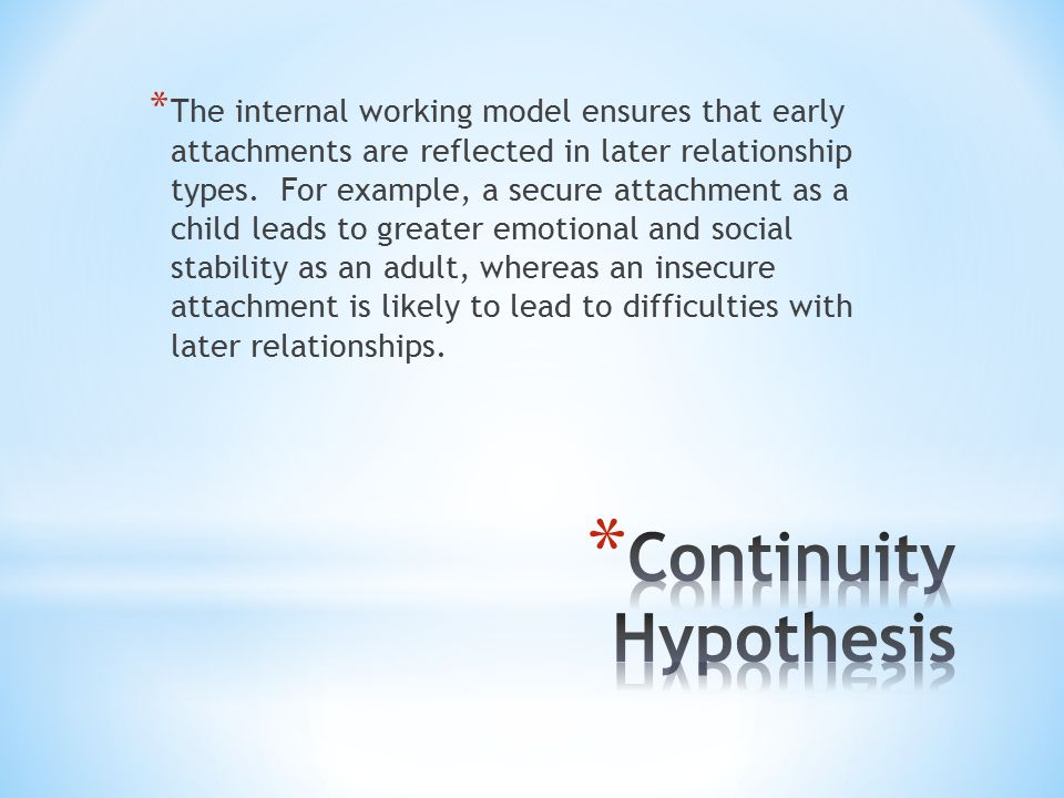 Continuity Hypothesis
