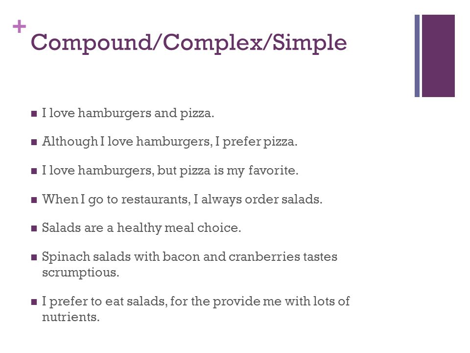 Compound/Complex/Simple