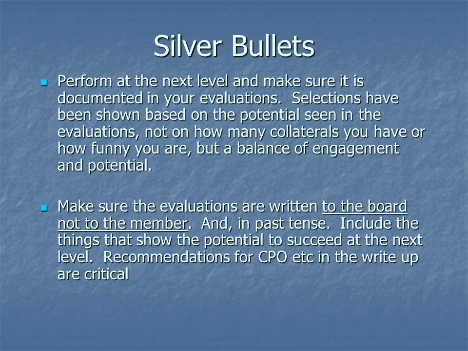 4/10/2017 Silver Bullets.