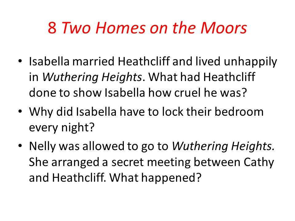 8 Two Homes on the Moors