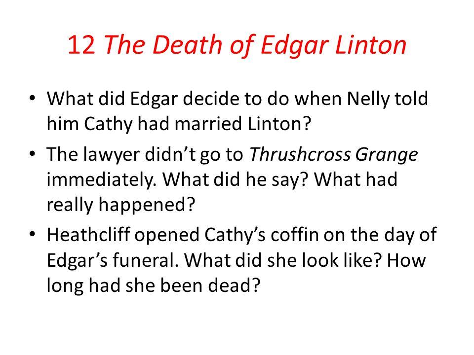 12 The Death of Edgar Linton