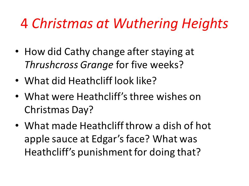 4 Christmas at Wuthering Heights