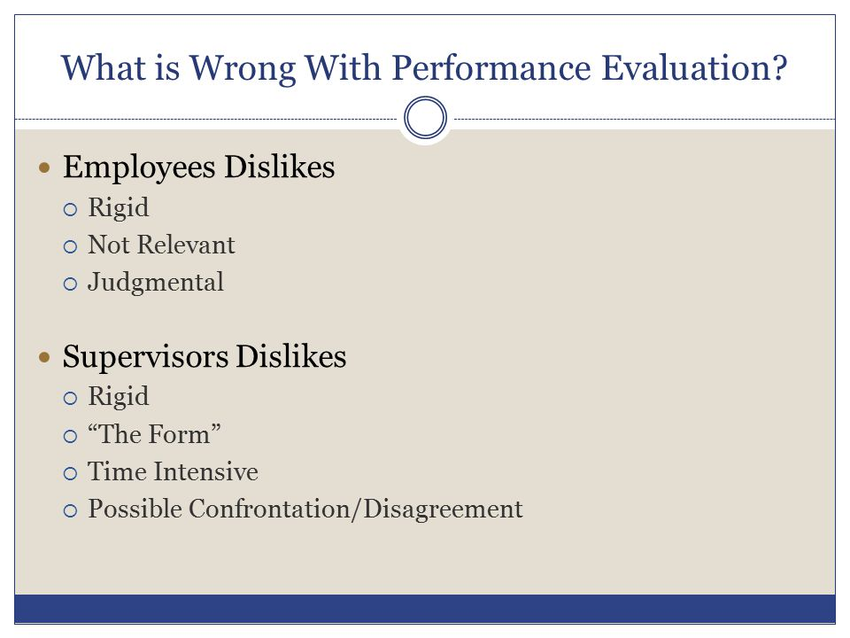 What is Wrong With Performance Evaluation