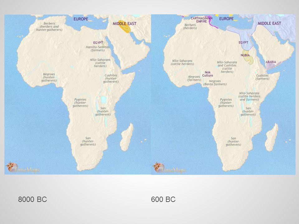 8000 BC 600 BC