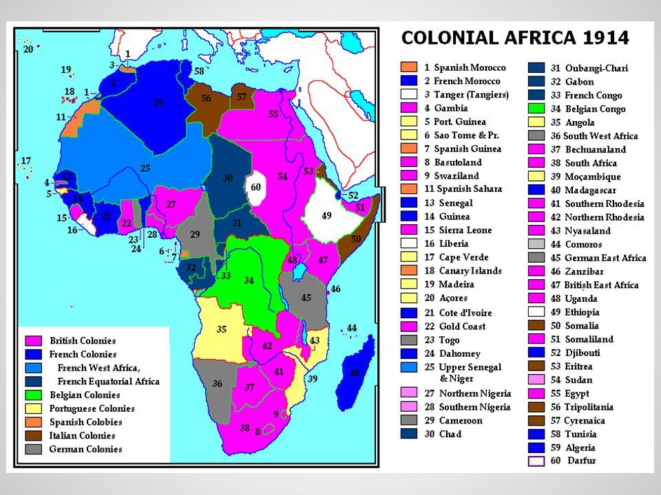 Colonial Boundaries