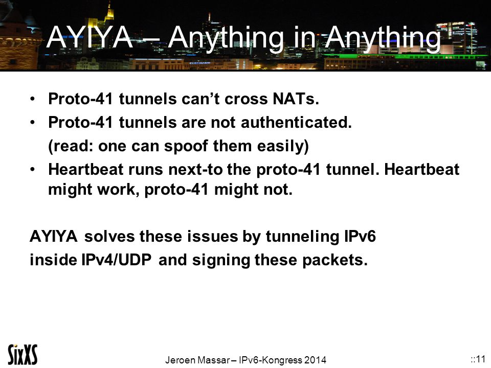 AYIYA – Anything in Anything