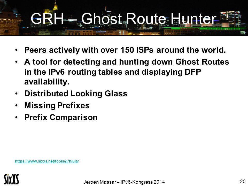 GRH – Ghost Route Hunter