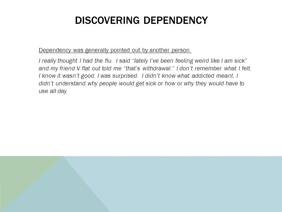 Discovering Dependency