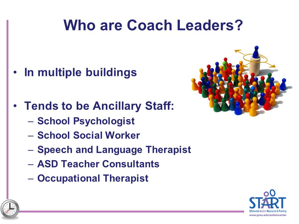 Who are Coach Leaders In multiple buildings