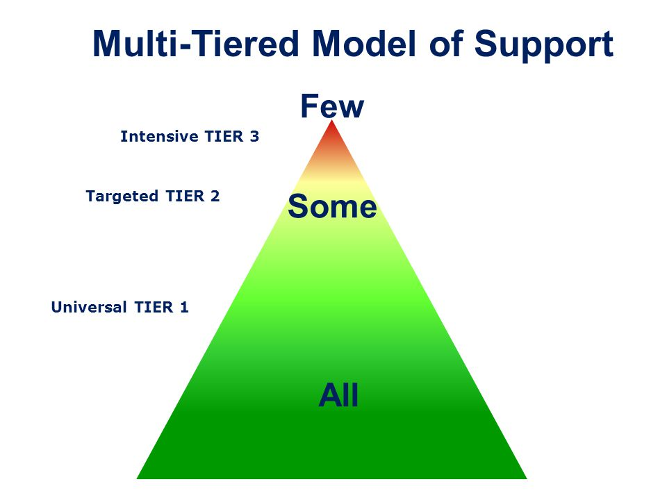 Multi-Tiered Model of Support