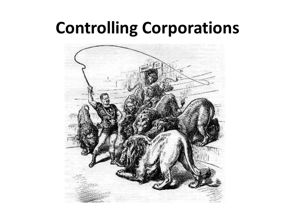 Controlling Corporations
