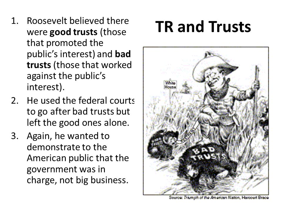 TR and Trusts