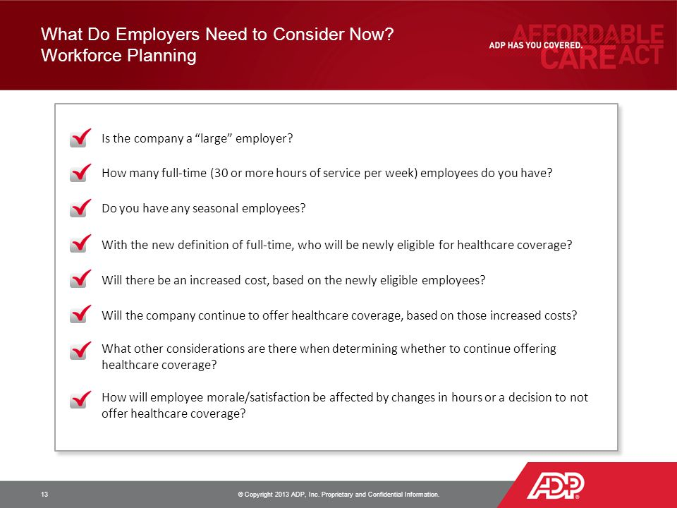 What Do Employers Need to Consider Now Workforce Planning