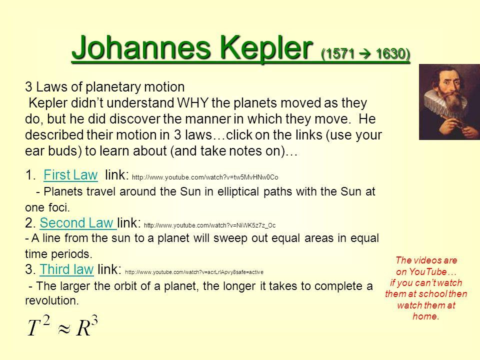 Johannes Kepler (1571  1630)