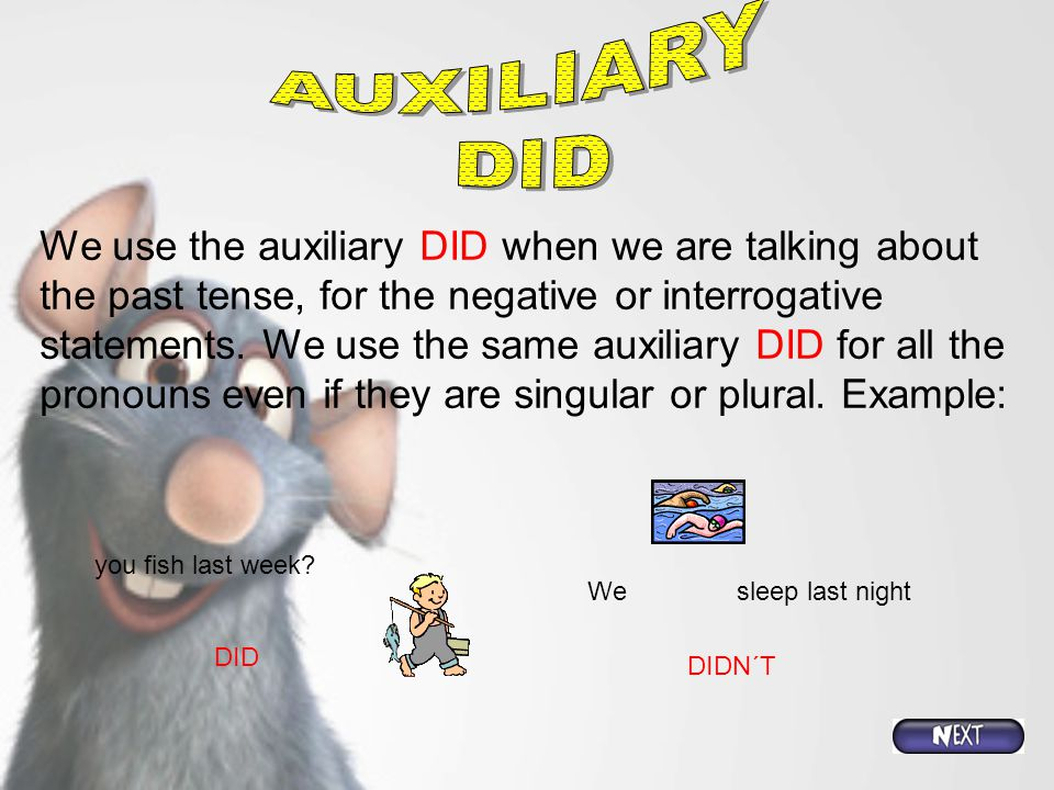 AUXILIARY DID.