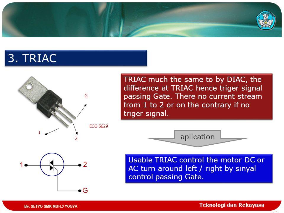 3. TRIAC ECG 5629. 1. 2. G.