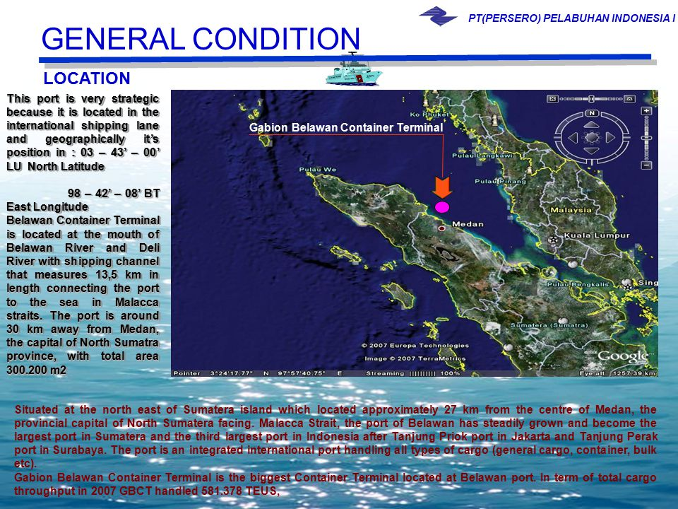 GENERAL CONDITION LOCATION