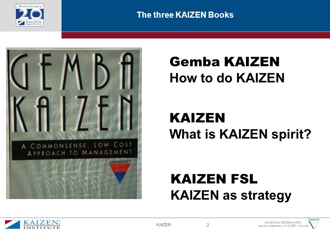 Gemba KAIZEN How to do KAIZEN KAIZEN What is KAIZEN spirit KAIZEN FSL