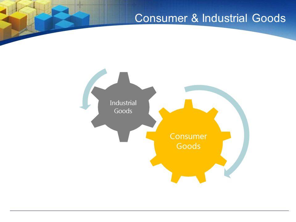 Consumer & Industrial Goods