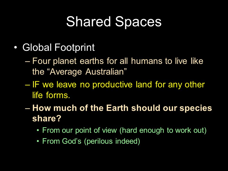 Shared Spaces Global Footprint