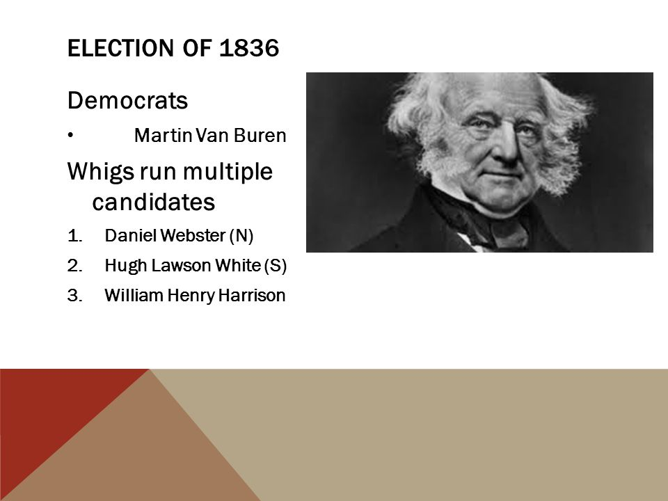 Whigs run multiple candidates