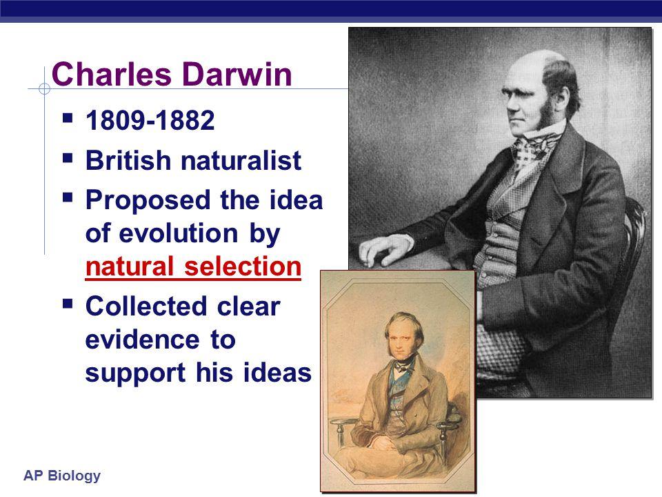 Charles Darwin 1809-1882 British naturalist