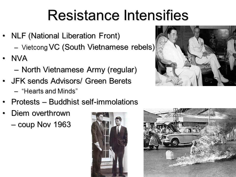 Resistance Intensifies