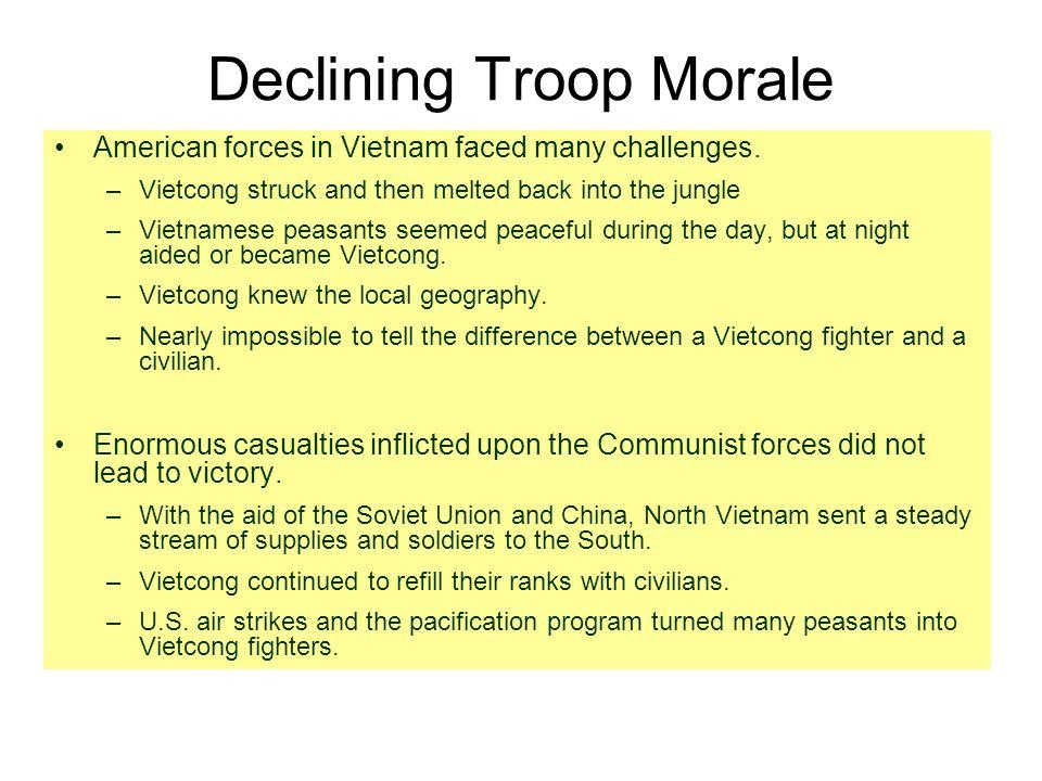Declining Troop Morale
