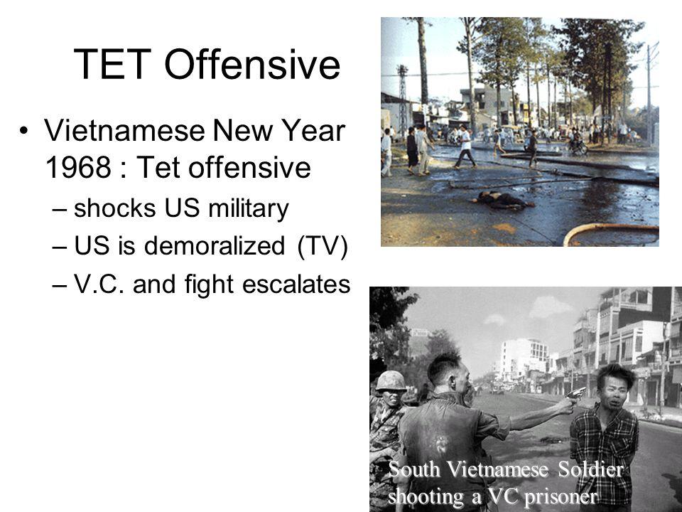 TET Offensive Vietnamese New Year 1968 : Tet offensive