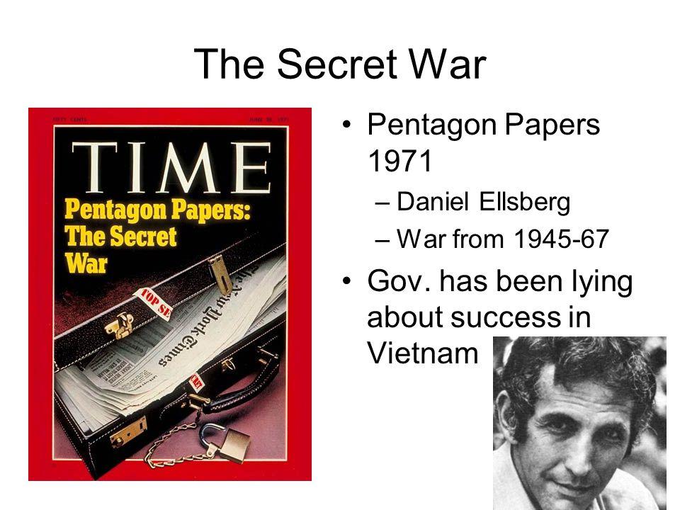 The Secret War Pentagon Papers 1971