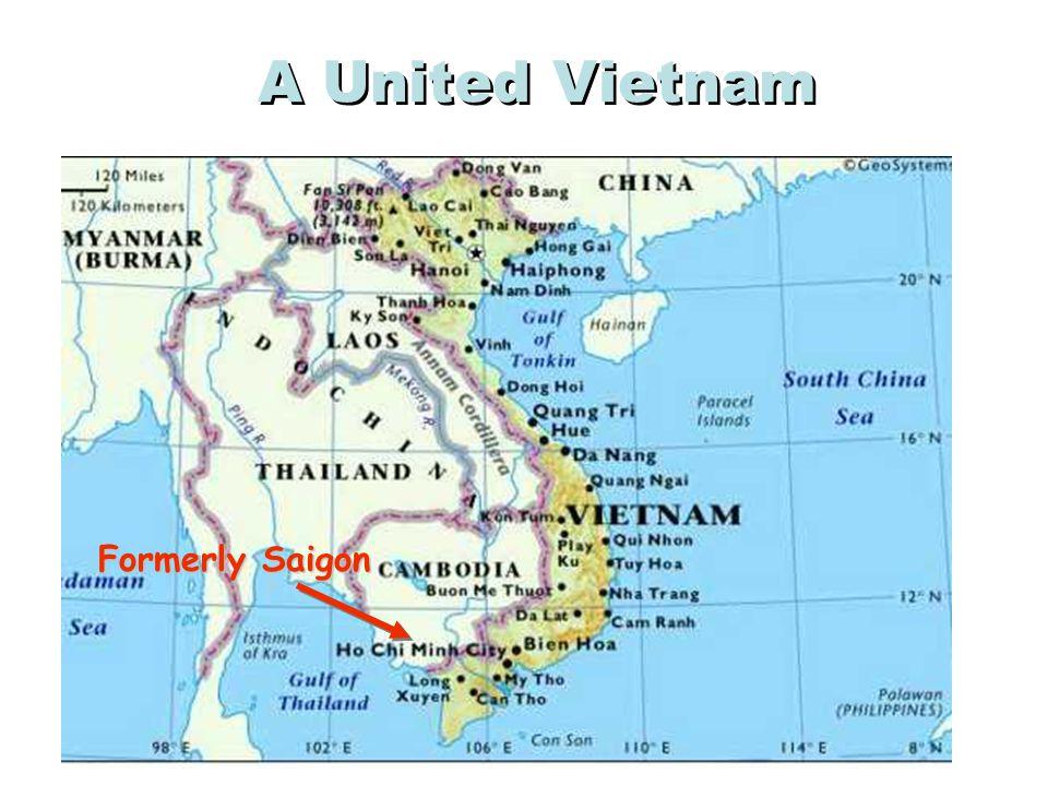 A United Vietnam Formerly Saigon