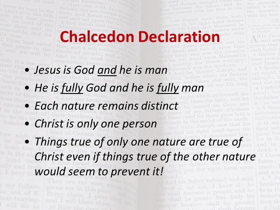 Chalcedon Declaration