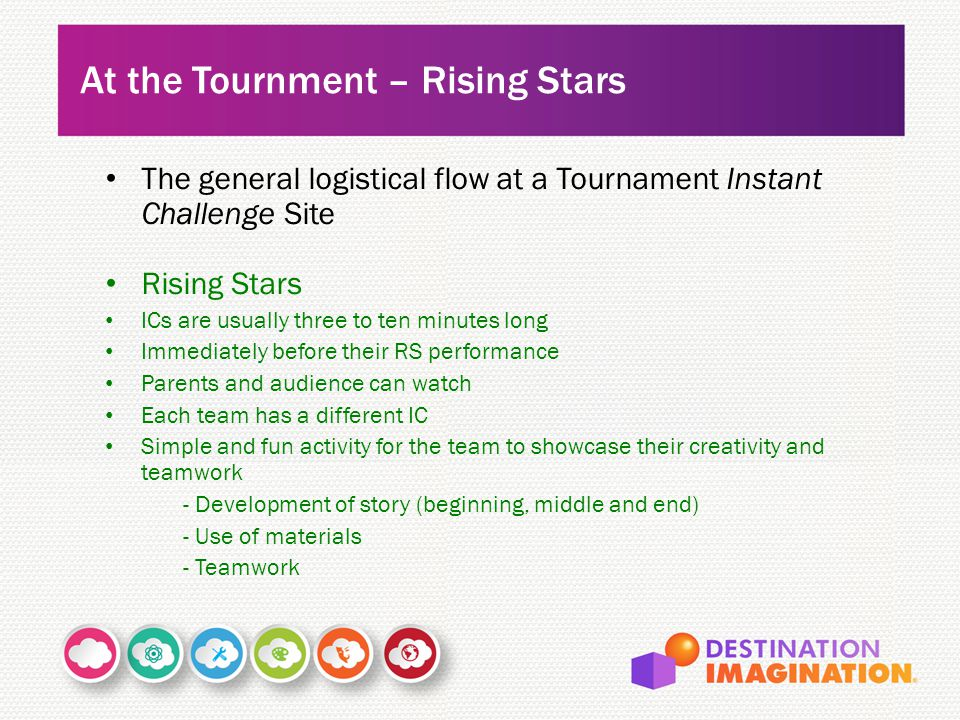 At the Tournment – Rising Stars