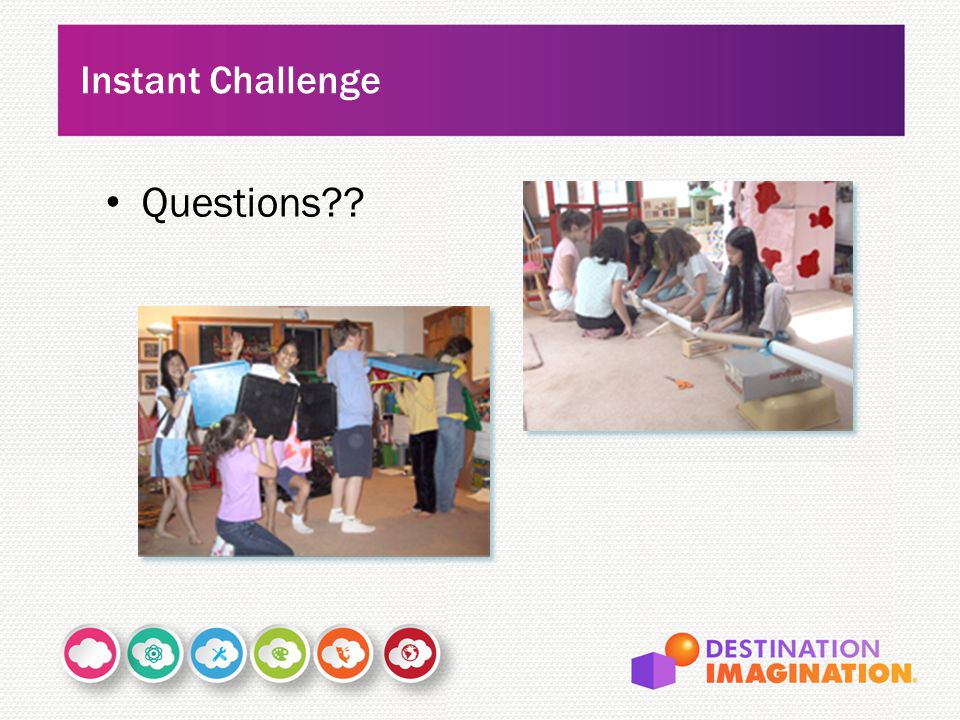 Instant Challenge Questions