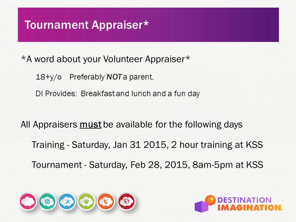 Tournament Appraiser*