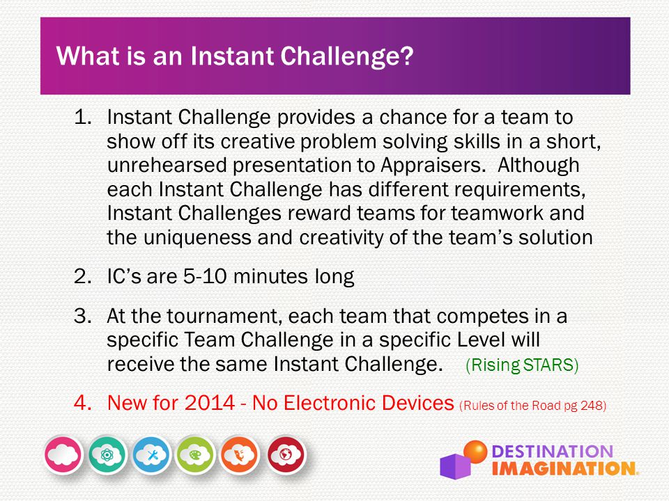What is an Instant Challenge