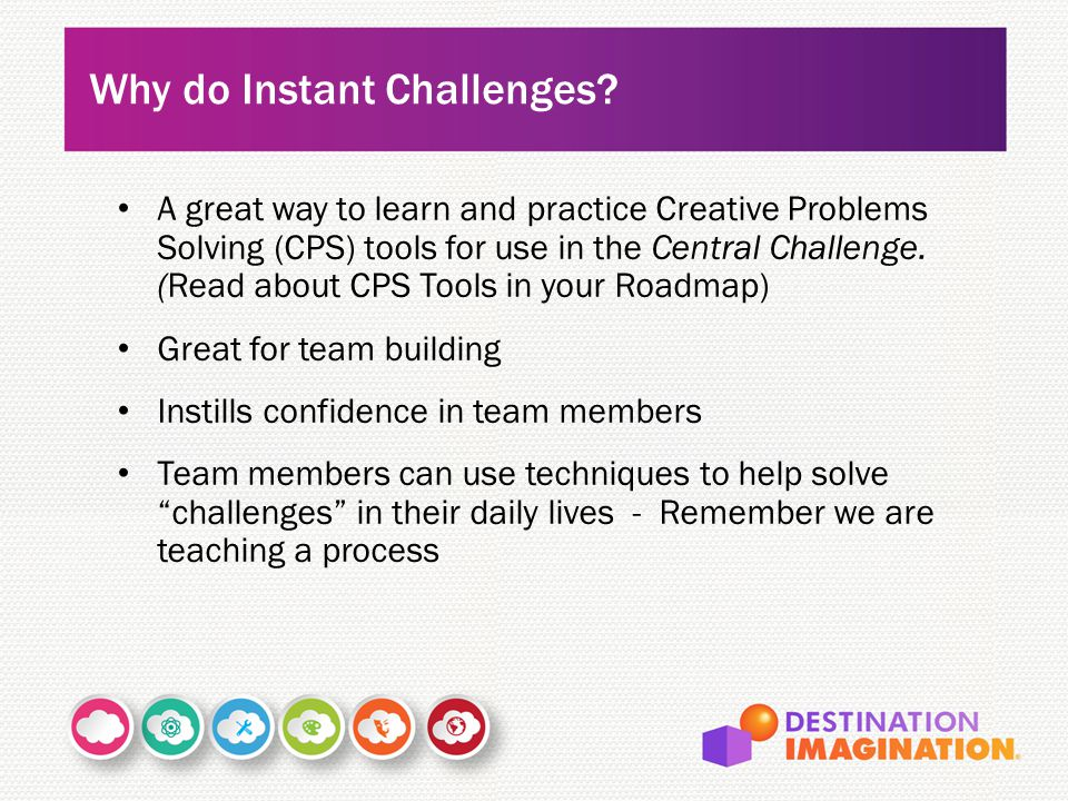 Why do Instant Challenges