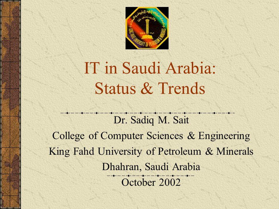 IT in Saudi Arabia: Status & Trends