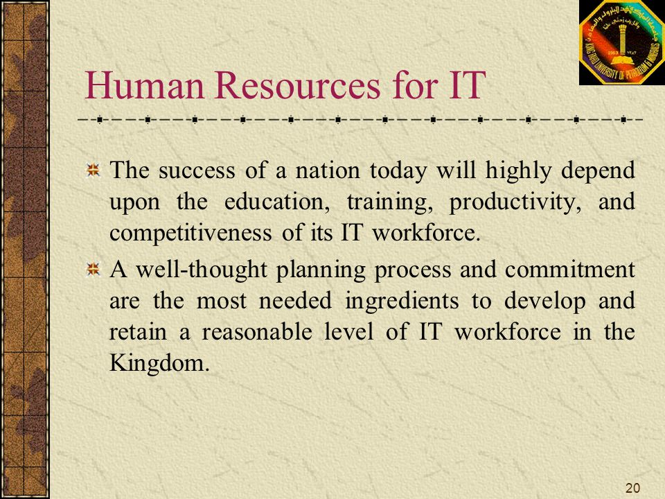 Human Resources for IT
