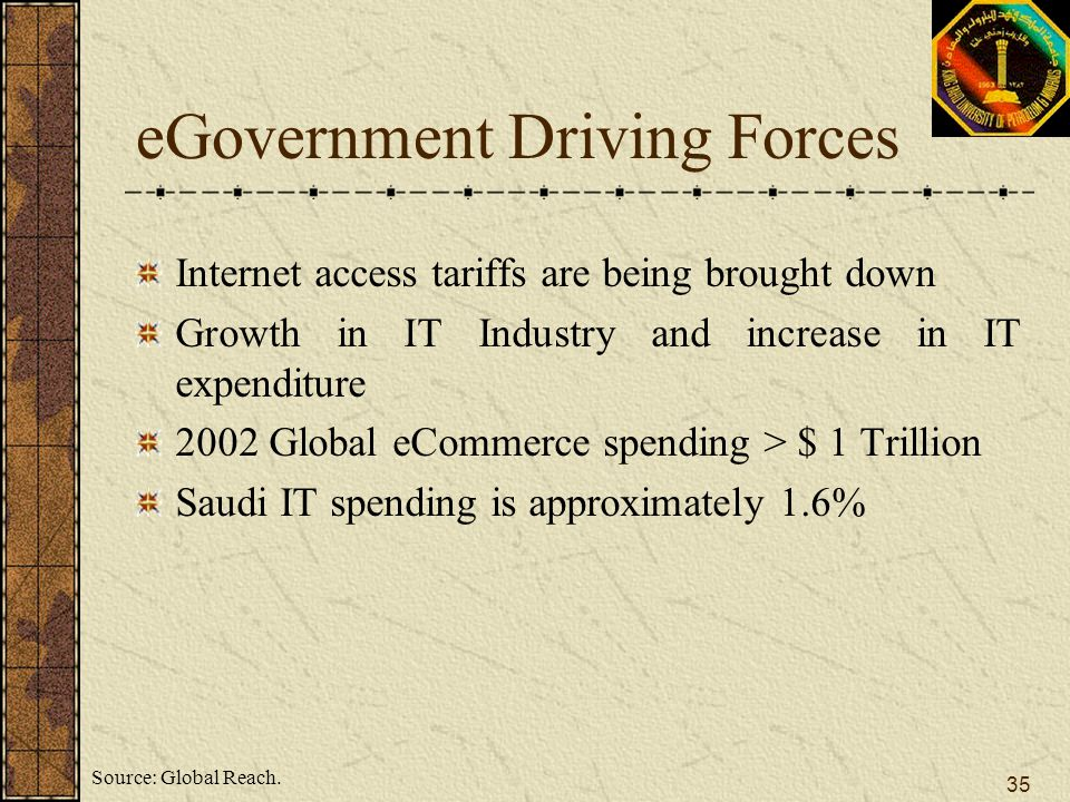eGovernment Driving Forces
