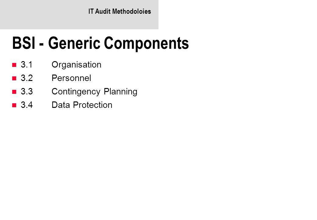 BSI - Generic Components