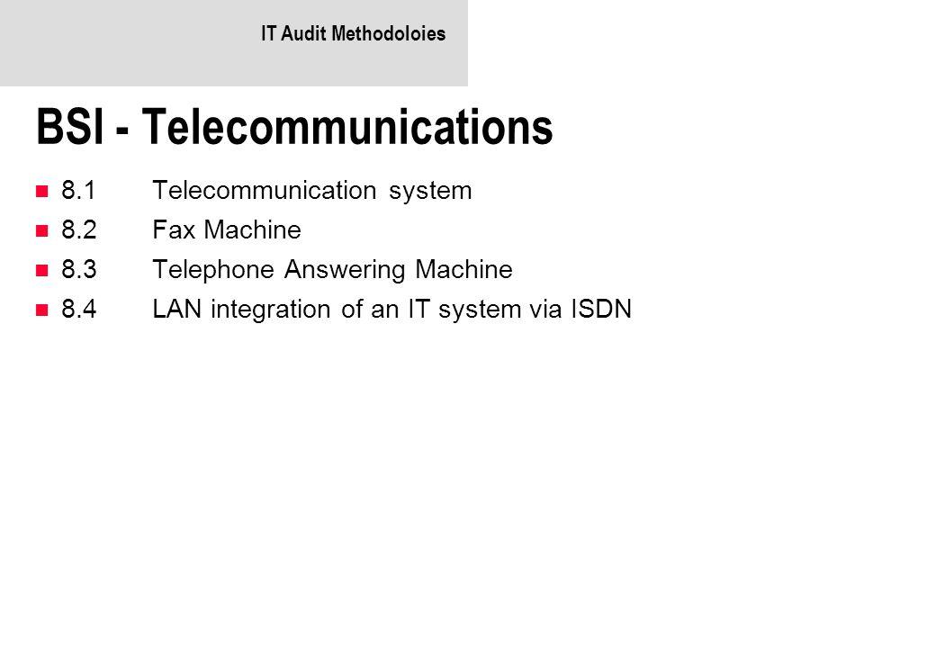 BSI - Telecommunications