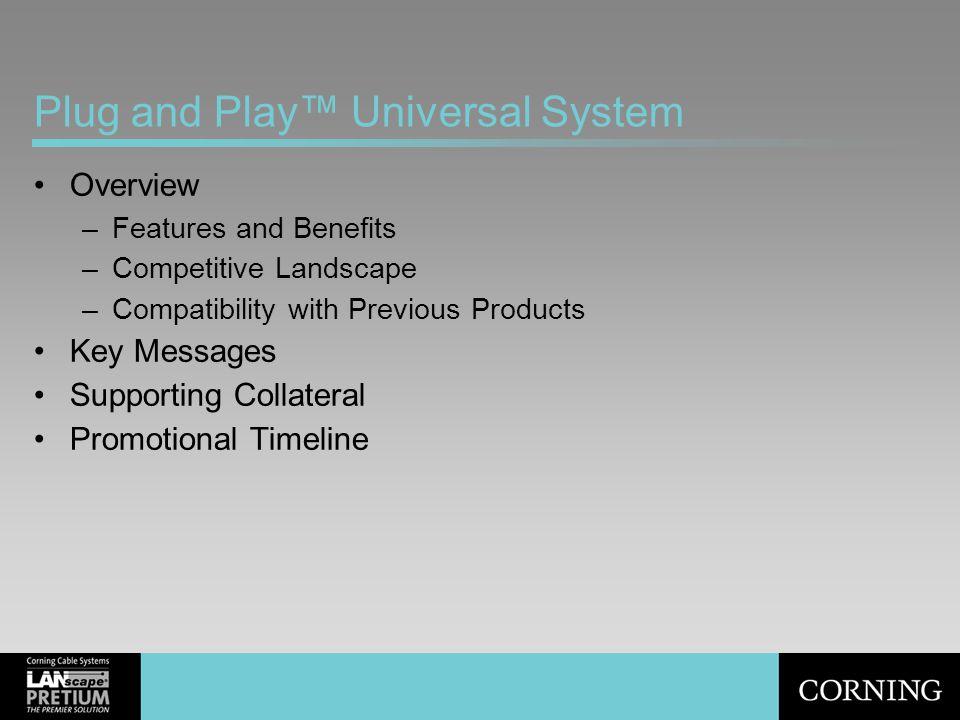 Plug and Play™ Universal System