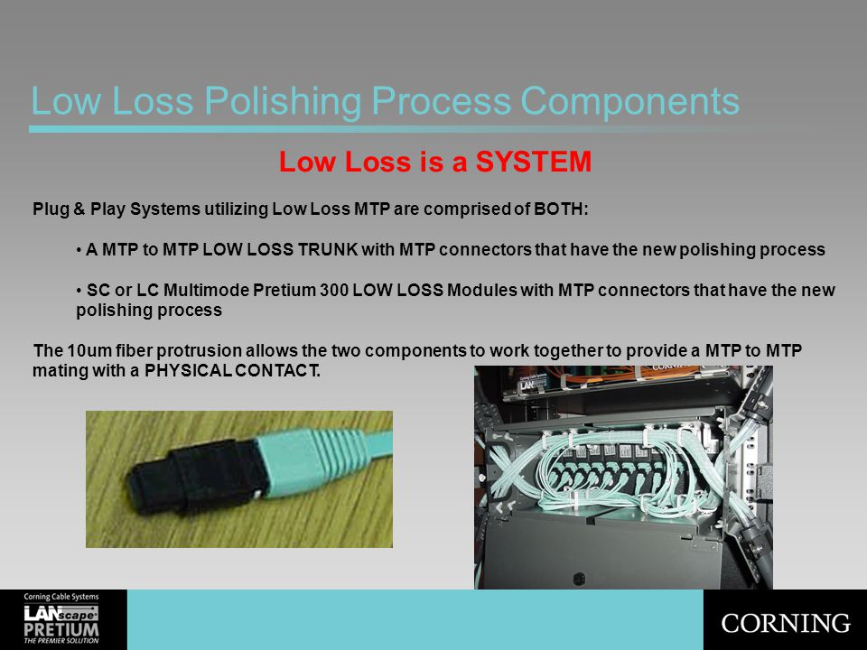 Low Loss Polishing Process Components