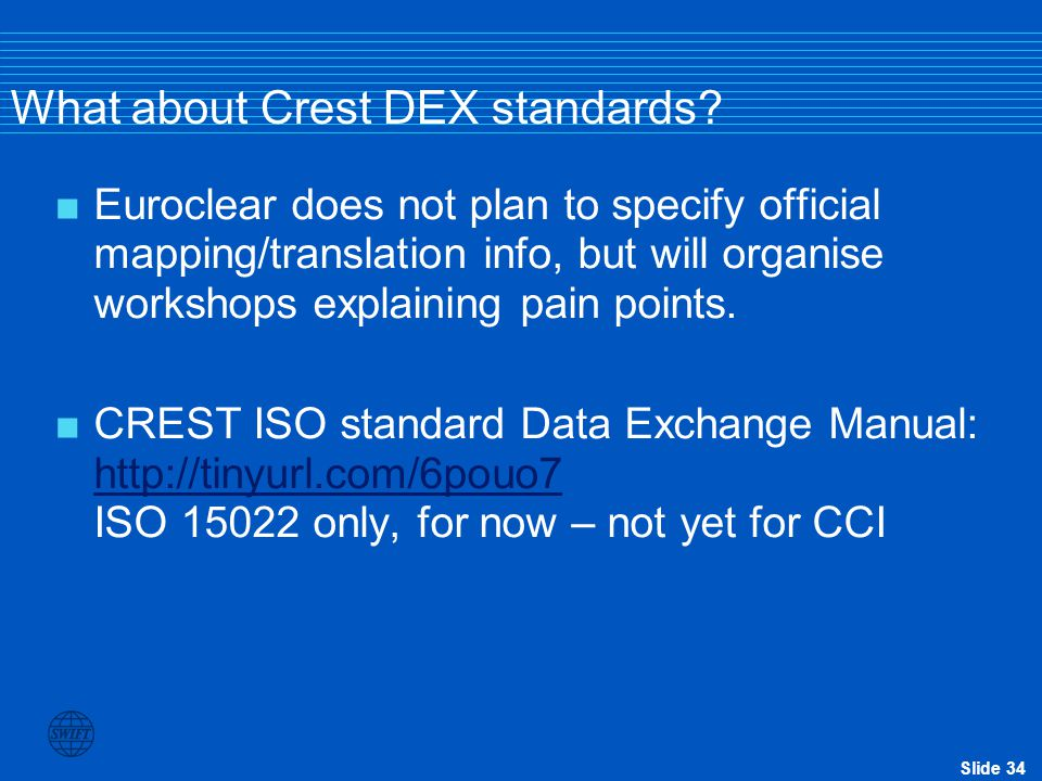 What about Crest DEX standards