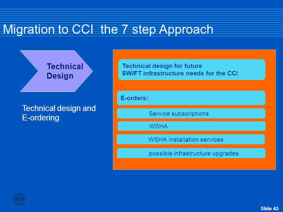 Migration to CCI the 7 step Approach
