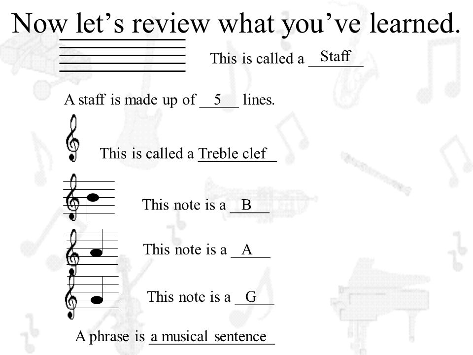 Now let's review what you've learned.