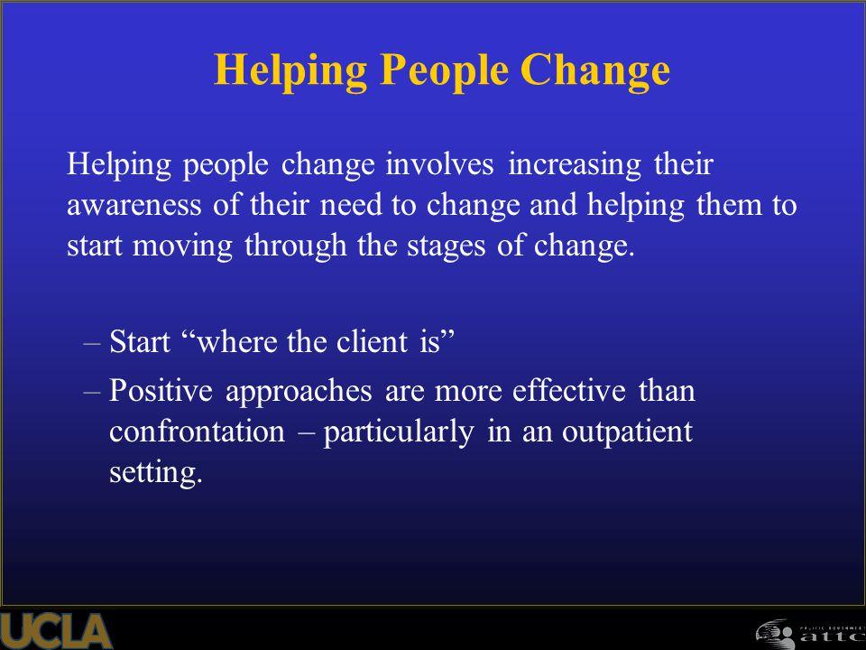 Helping People Change
