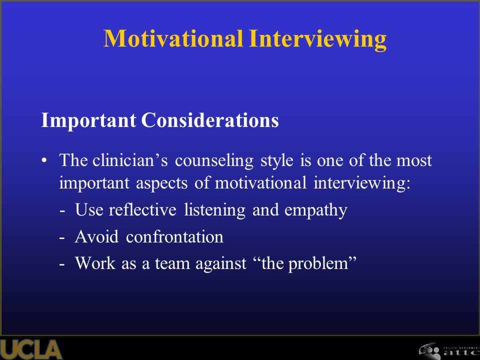 Motivational Interviewing